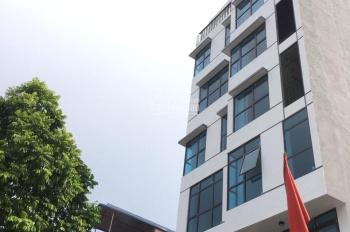 Cho thuê nhà mặt phố Trung Kính, Trung Hòa, Cầu Giấy. DT 90m2 * 5T, MT 5,5 có thang máy giá 45tr/th