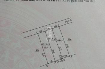 Bán đất Yên Nghĩa (39,4m2*33tr/1m2) chỉ 1.3 tỷ, giá cực đẹp, ngay gần KĐT Đô Nghĩa. LH 0333762850