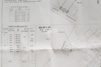 Cần bán gấp lô đất đối diện trường CĐ Công Thương TP.HCM, Tăng Nhơn Phú, Q9, giá 1 tỷ 650, DT 4x15m