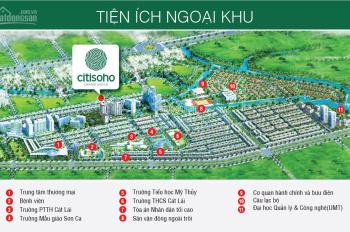 Bán lại căn hộ Citi Soho, tầng đẹp giá 1.41 tỷ, tháng 11/2019 nhận nhà