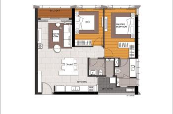 Cần bán gấp 2PN Linden view tòa 88 tầng và hồ trung tâm, tầng trung. LH Đức Nhân 0902.584.339