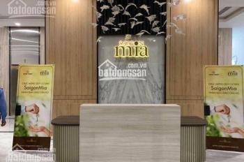 Cho thuê căn hộ Sài Gòn Mia, full nội thất, bao phí quản lý chỉ từ 8tr - 15tr/th. LH 0909052122
