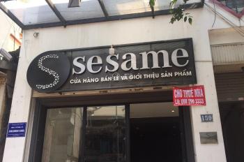 Cho thuê cửa hàng MP Ngọc Khánh, 40m2, mt 4m, giá 25tr/th, vị trí đẹp, nhà mới