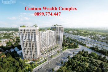 Shophouse Centum Wealth (1 trệt + lầu), mặt tiền đường, cho thuê sinh lợi ngay 8% năm đầu tiên