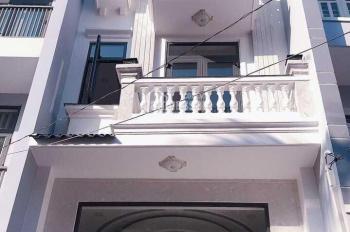 Bán nhà P. Đông Hưng Thuận, Quận 12 đúc kiên cố trệt 1 lửng 3 lầu. DT 4x16m, LH 0937044693