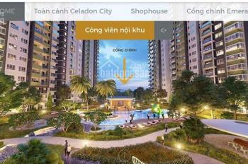 Chính chủ bán cần bán chung cư Celadon City Tân Phú, căn góc E10-20, Block E, khu Ememerald, 106m2
