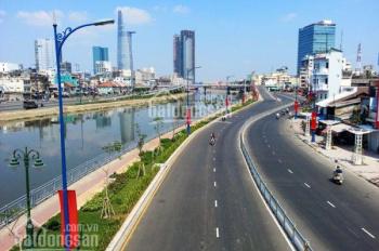 Bán nhà mặt tiền Nguyễn Tất Thành, Q. 4, DT: 8x25m, đối diện cảng Sài Gòn, giá 33 tỷ