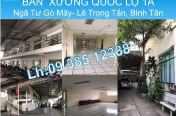 Bán nhà làm trường học, Quốc Lộ 1A, ngã tư Gò Mây, Lê Trọng Tấn, Q. Bình Tân, 2017.5m2