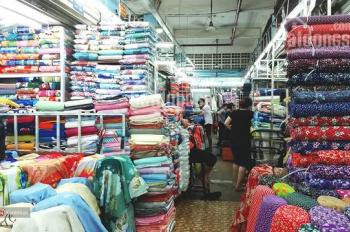 Bán nhà mặt tiền chợ vải ngay Lê Minh Xuân, P7, Q. Tân Bình (4 x 25m) trệt, 2 lầu, giá 17 tỷ