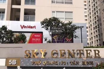 Chính chủ cho thuê Officetel Sky Center 69m2, được ở qua đêm như căn hộ. LH: 0934.193.592