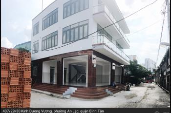 Cho thuê nhà nguyên căn làm văn phòng ngay góc mới 100% quận Bình Tân