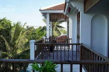 Bán khách sạn 19 phòng ngủ, view sông, rừng dừa nước khu vực Cẩm Châu, Hội An
