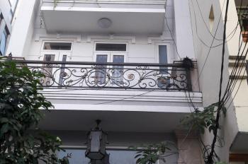 Cho thuê nhà MT Trường Sa, Q. Phú Nhuận, DT 13x14m, 1 hầm 7 lầu. Giá 200tr/th