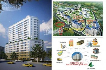 Cần bán một số căn hộ tòa Hanhud ngõ 234 Hoàng Quốc Việt 0904718336