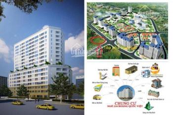 Bán căn hộ 83m2 chung cư Hanhud Hoàng Quốc Việt