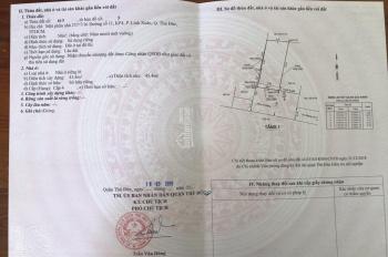 Bán nhà cấp 4 đường 11, Linh Xuân. Diện tích sử dụng 65m2 công nhận, 50m2 thổ cư