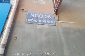 Chính chủ cần bán gấp đất ngõ 26 Phùng Hưng, Hà Nội. oto đỗ trước cửa nhà.