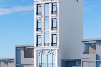 cho thuê tòa VP 9 tầng mặt phố Khương Đình đối diên tổ hợp chung cư  cao cấp FIVE STAR. GIÁ 130tr