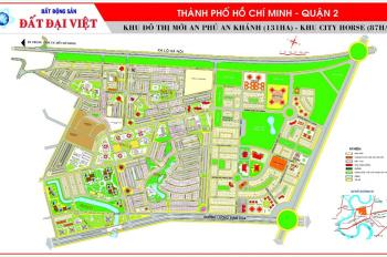 Tôi cần bán lô đất An Phú An Khánh, Quận 2, khu C diện tích 4x20m