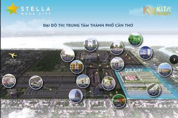 Đất nền dự án Stella Mega City, Cần Thơ, giá chỉ từ 19 triệu/m2