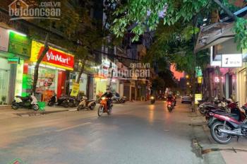 Bán nhà mặt phố Hoàng Văn Thái, lô góc, kinh doanh 77 m2, mặt tiền 6 mét, giá 18x tỷ