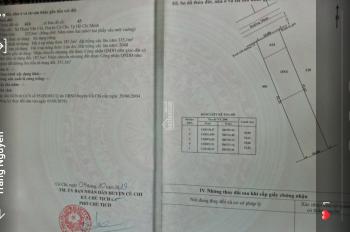 Bán đất mặt tiền, giá rẻ  đường 489, xã Phạm Văn Cội, Củ Chi. LH Thúy 0938363779