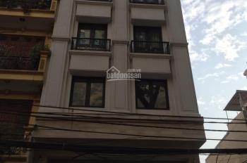 Bán nhà mặt phố Nguyễn Khắc Hiếu, Ba Đình, Hà Nội, diện tích 60m2, xây 6,5 tầng, thang máy