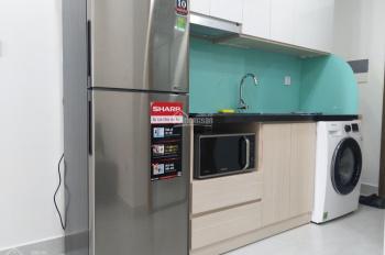 Officetel hoàn thiện bếp, rèm, máy lạnh tại Millennium 30m2, cho thuê chỉ 12 tr/th. LH 0916020270
