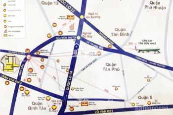 Đất nền Bình Tân, gần Aeon Mall, khu dân cư hiện hữu, hạ tầng hoàn chỉnh, ngân hàng hỗ trợ 50%
