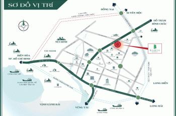 Dự án Baria Residence mặt tiền đường Hùng Vương kế bên bệnh viện 700 giường SĐT 0932899143