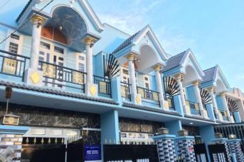 Nhà phố 1 trệt, 1 lầu, gần cầu Ông Thìn, đường QL 50, giá 630tr - chính chủ 0938307441
