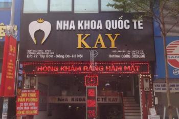 Chính chủ cho thuê văn phòng Tây Sơn, Nguyễn Lương Bằng