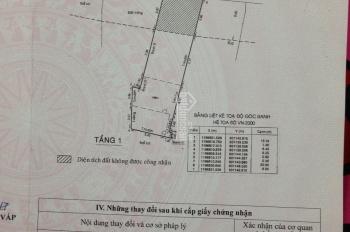 Bán nhà mặt tiền nội bộ đường số 2, Nguyễn Kiệm, Phường 3, Gò Vấp, 135m2, 6x22m, giá 7.7 tỷ