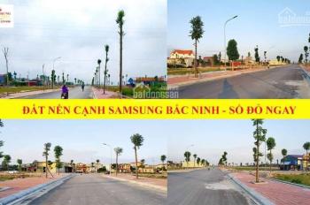Đất nền KĐT Samsung Yên Phong Bắc Ninh, đã có sổ đỏ, giá gốc CĐT, chỉ từ 11tr/m2. LH 0913461235