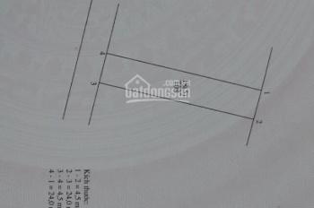 Bán đất trục chính kinh doanh tại Cửu Việt 1, Trâu Quỳ, DT 108m2, MT 4,5m, vuông vắn, LH 0977553476