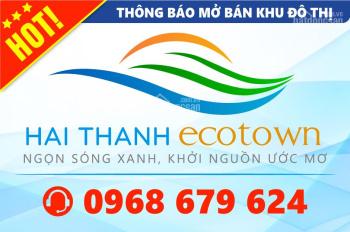 """(hot) mở bán 30 lô đất và 10 căn biệt thự KĐT 4 sao """"Hai Thành Ecotown Bình Tân"""" + quà tặng 100tr"""