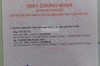 Bán nhà mặt tiền Võ Duy Ninh, Bình Thạnh, 75m2, 1 trệt 2 lầu giá 12,5 tỷ