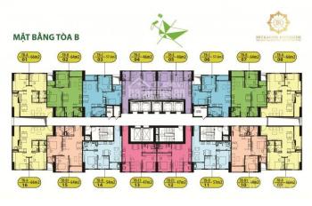 CC bán gấp CH 1715 Chung cư Intracom Riverside,Đông Anh,DT 64m2,giá bán 21tr/m2.0962899842
