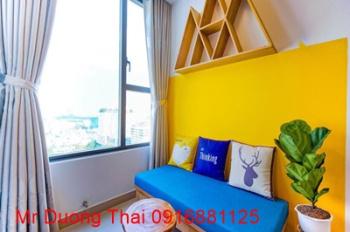 Cho thuê căn hộ studio River Gate Residence quận 4, 35m2, giá thuê 13 triệu/tháng