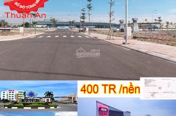 Đất nền sổ đỏ 1,8 tỷ /nền cách Aeon mall 5 phút