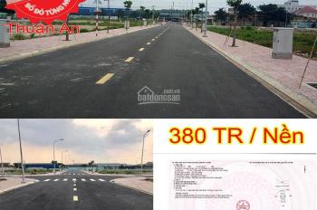 Mở bán đợt 1 đất nền dự án đã có sổ đỏ 1,8 tỷ/nền giá thấp nhất khu vực cách Aeonmall 7 phút