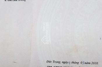 Cần tiền trả nợ bán đất nghỉ dưỡng Đức Trọng, Lâm Đồng, 1000m2, giá 950 triệu. SHR, chính chủ