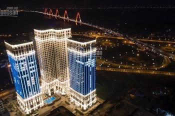 Sunshine Riverside căn 3PN/83,5m2 giá 3,4 tỷ view cầu Nhật Tân, sông Hồng; đóng 10% ký HĐMB, LS 0%