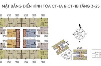 Chính chủ bán 2PN, view hồ CT1A - 2009, 52m2, tại Hateco Xuân Phương chỉ 1.4 tỷ, 096 551 9826