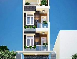 Chính chủ cần bán căn nhà 4 tầng thô, thiết kế hiện đại, đẳng cấp thuộc KĐT Damsan, TP Thái Bình