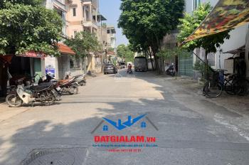 Bán nhà 4 tầng lô góc 49m2 mặt đường 12m và 5m có vỉa hè, tổ 7, Việt Hưng, Long Biên