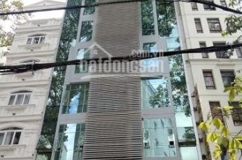 Cho thuê tòa nhà văn phòng 2MT Lam Sơn, P. 2, quận Tân Bình, DT: 20x20m, 2 hầm, trệt, lửng, 6 tầng