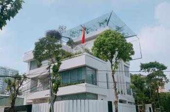 Bán nhanh biệt thự góc 2 MT 5 lầu Nguyễn Văn Hưởng - 10x25m khai thác CHDV 250tr/th 49tỷ 0854771772