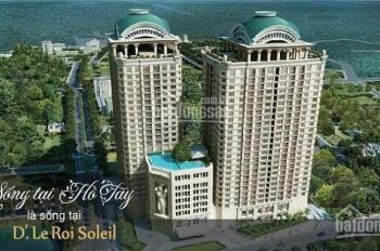 Căn 111m2, 3PN dự án D'. Le Roi Soleil 59 Xuân Diệu. Chiết khấu 9.5%, tặng nội thất lên tới 600tr