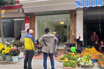 CC bán nhà đất 60m2 mặt đường Mậu Lương, Kiến Hưng, HĐ. Đường rộng 25m KD sầm uất (Giá 75tr/m2)